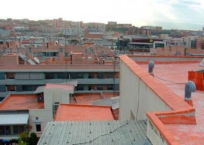 Rehabilitación de patios y cubiertas Barcelona
