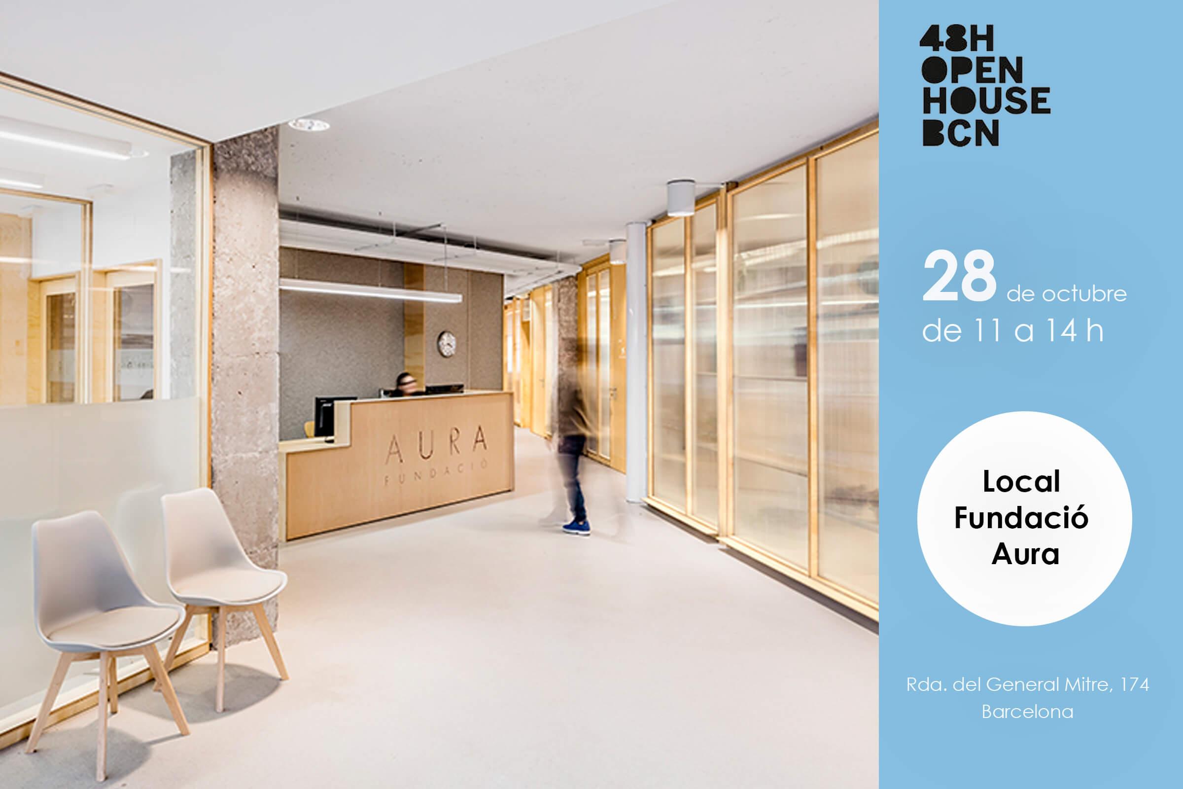 48h open house bcn Aura fundació