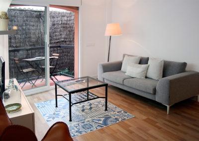 Apartamento funcional y cálido