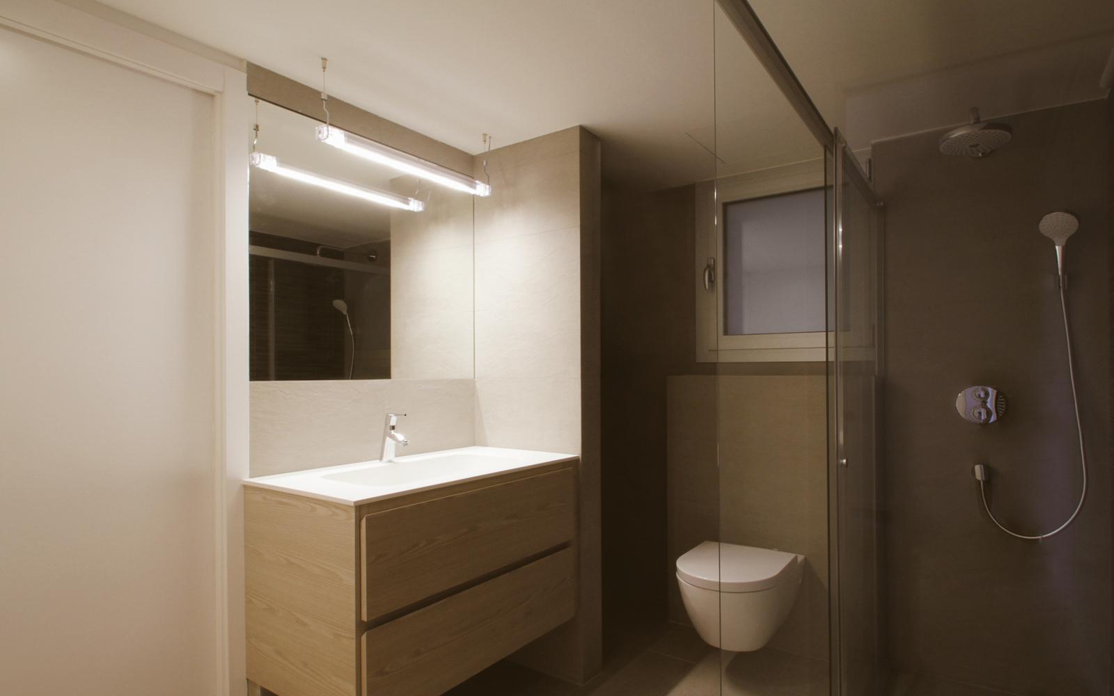 Reforma integral gran v a carles iii funcionalidad y for Coste reforma integral piso 90 metros