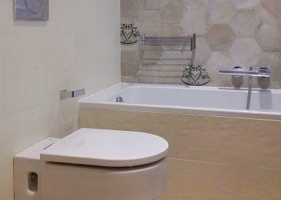 baño pavimento diseño