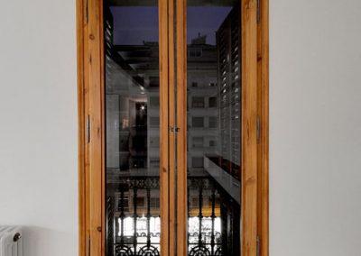Carpinterías exteriores originales