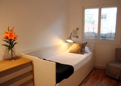Il·luminació d'una de les habitacions