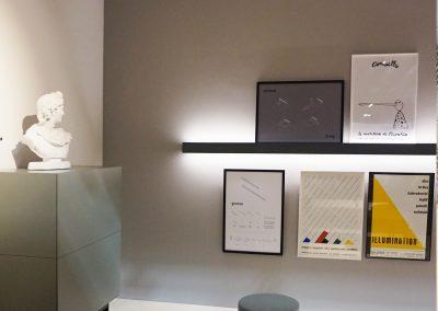 interior salón iluminación