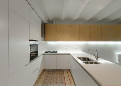 Distribución mobiliario cocina
