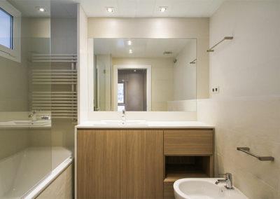 Mobiliario del baño casa Dica