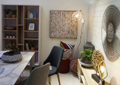mobiliario iluminación interior