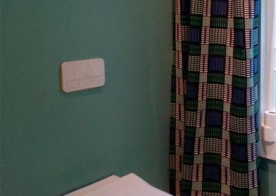 Pared de baño con color PANTONE 556