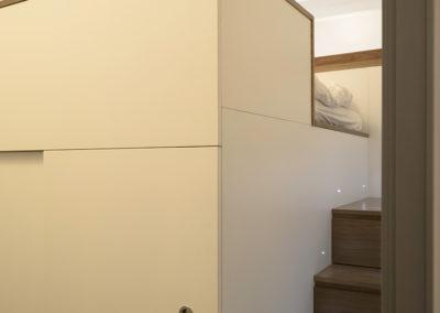 Dormitorio en alto
