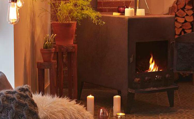Radiadores y chimeneas, los mejores aliados contra el frío