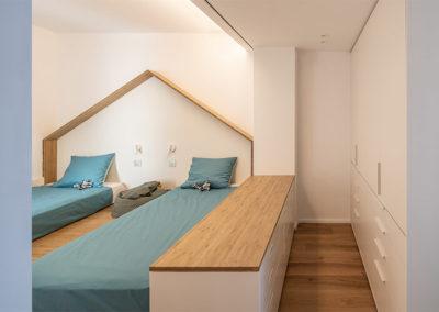 Colocar 2 camas sin perder espacio