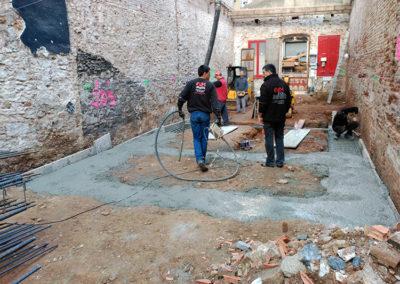 Proceso de construcción de la vivienda