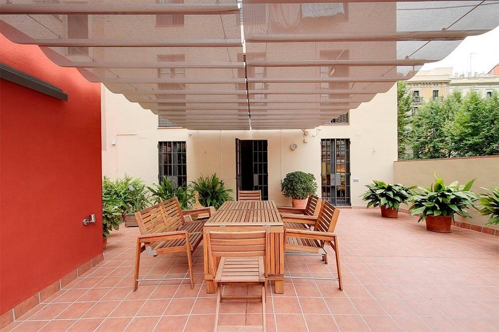Rehabilitación de patios y cubiertas