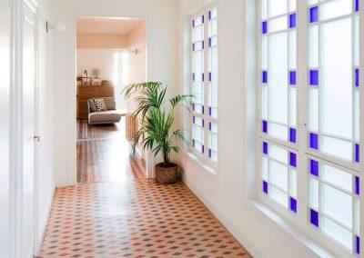 Habitatge amb gran quantitat de llum natural